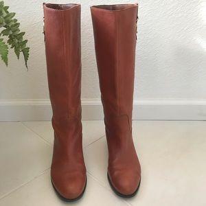 Banana Republic Pebble Leather Knee Boots